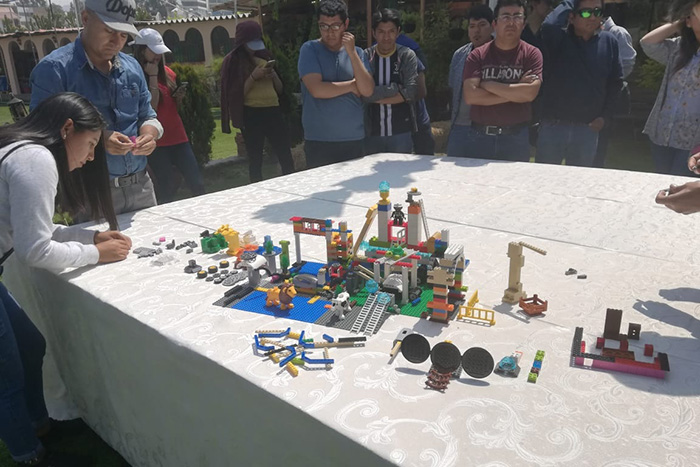 Taller: Team Building utilizando LEGO SERIOUS PLAY